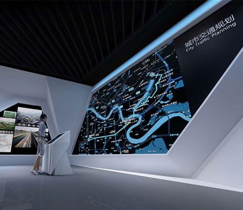 城市规划馆展厅制作