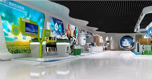 牛奶企业展厅制作